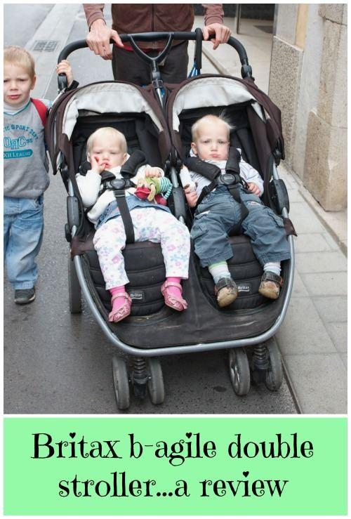 Britax B Agile Double Stroller Our Awseome Twin Buggy