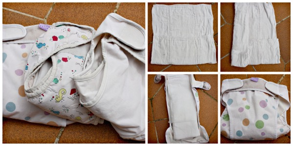 Using fabric nappies (aka diapers)