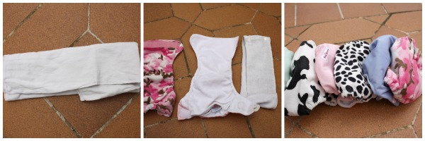 prefold nappies how to use
