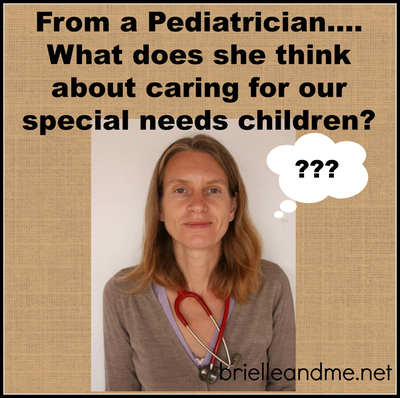 Paediatrician and special needs children