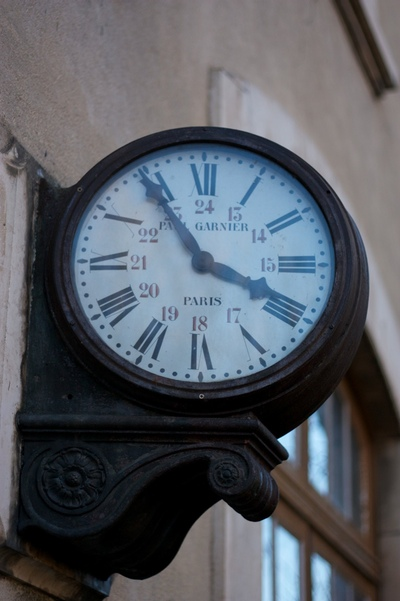 An old station clock